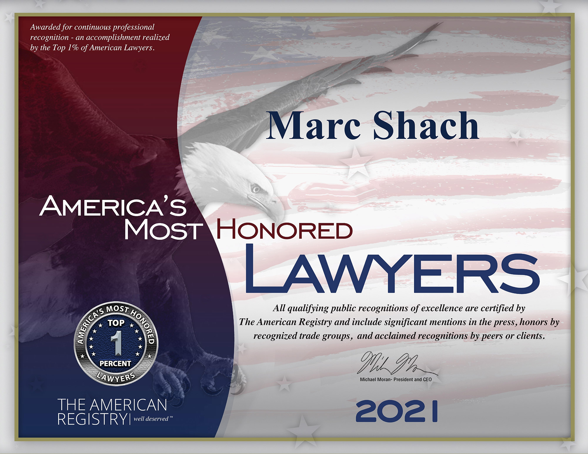 marc-shach-most-honored-lawyers